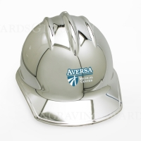 Chrome Plated Ceremonial Hard Hats with Printing