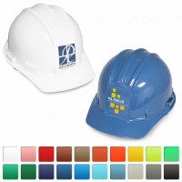 Flat Front Ceremonial Hard Hats with Printing