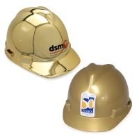 Ceremonial Groundbreaking Gold Hard Hats
