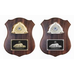 Ceremonial Hard Hat Plaque Awards