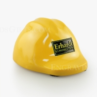 Mini Hard Hat Paperweight with Personalization
