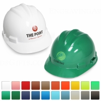 Round Front Ceremonial Hard Hats with Printing