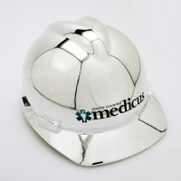 Show Chrome Ceremonial Hard Hat with Personalization