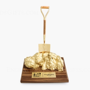 Ceremonial Shovel & Nugget Award