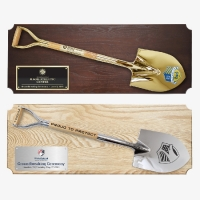 "42"" x 16"" Full Size Ceremonial Shovel Plaques"