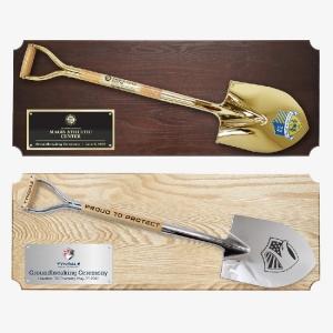 "42"" x 16"" Full Size Ceremonial Shovel Plaques"