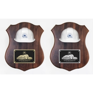 "16"" x 20"" Assorted Colors Ceremonial Hard Hat Plaques"