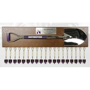 Large Custom Shovel Plaque with Mini Shovels