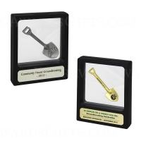 Miniature Shovel Illusion Display Case