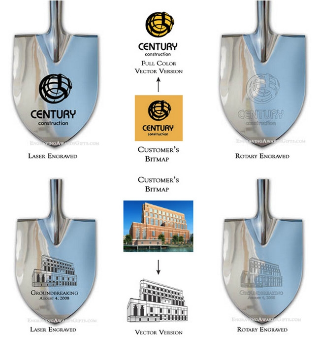 Ceremonial Shovels Personalization