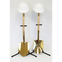 Deluxe Gold Ceremonial Groundbreaking Kits