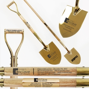 Specialty Spade Style Gold Shovels