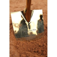 Groundbreaking Ceremony with Gold Plated Shovels