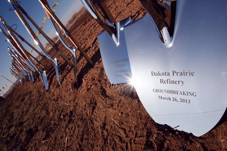 Specialty Style Spade Show Chrome Plated Ceremonial Shovels - Groundbreaking Event