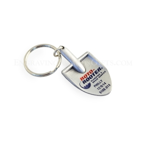 Miniature Cast Shovel Keychain