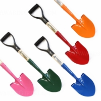 Small Assorted Color Painted Ceremonial Shovels