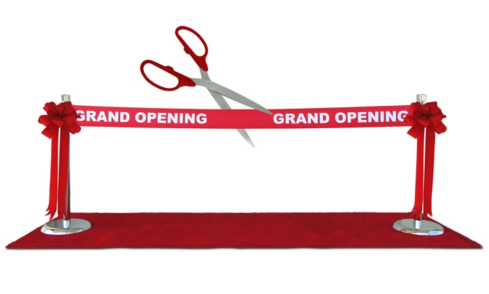 Example Setup for Your Ribbon Cutting Ceremony