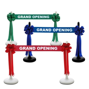 Stage Your Ribbon Cutting with Stanchions!