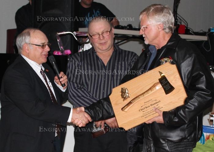 Ceremonial Firefighter Retirement Award