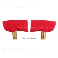 Red Fleece Axe Head Cover