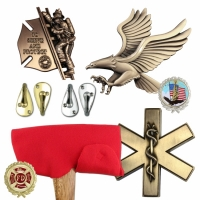 Ceremonial Firefighter Axe Accessories