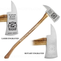 "36"" Chrome Plated Ceremonial Firefighter Axes"