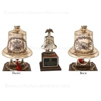 Engraved Firefighter Bell Awards