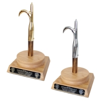 Engraved Pike Pole Pedestal Awards