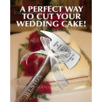 Engraved Wedding Axes for Cake Cutting