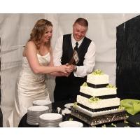 Amy and Ryan Berg's Wedding Axe