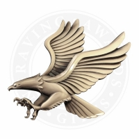 Large Metal Eagle Casting