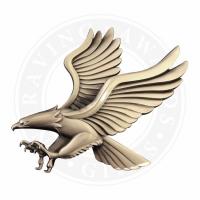 Large Metal Eagle Casting