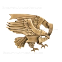 Metal Casting: Large Modern Eagle