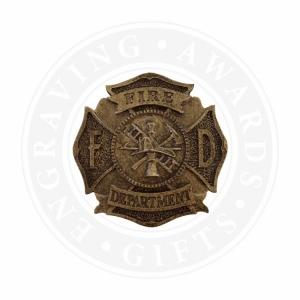 Small Fire Department Maltese Casting