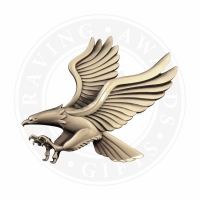 Small Metal Eagle Casting