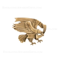 Metal Casting: Small Modern Eagle