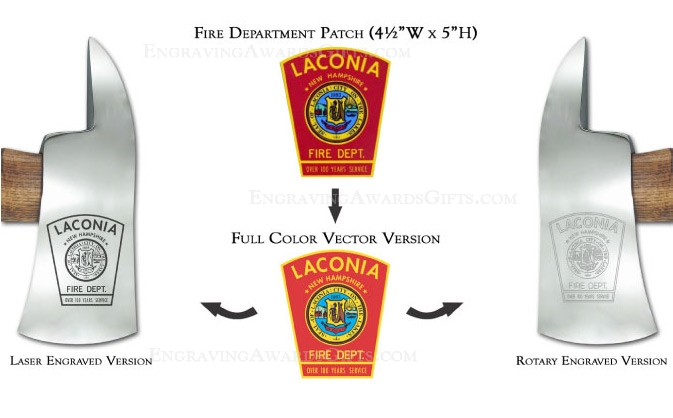 Ceremonial Firefighter Personalization Services