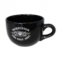 24 oz Black Chowder Mug