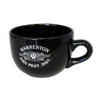 24 oz Black Chowder Mug