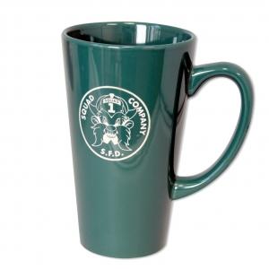16 oz Java Mug - Green