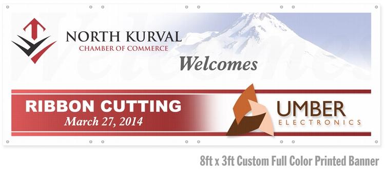 Custom Full Color Printed Banner