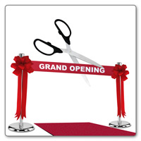 Ceremonial Scissors Grand Opening Kits