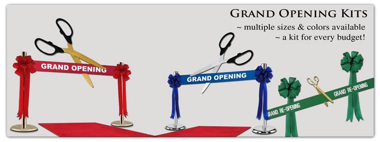 Ceremonial Scissors Grand Opening Kits