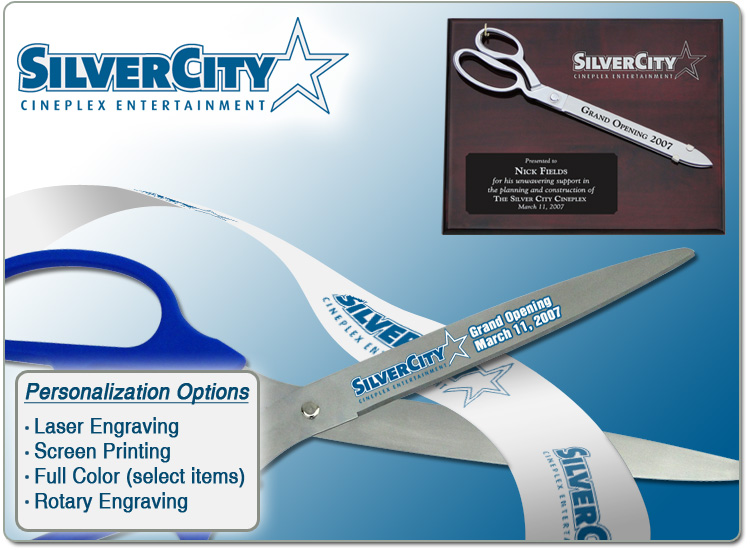 Ceremonial Scissors Personalization Services