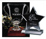 Engraved Crystal Awards